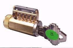 KIK style lock cylinder