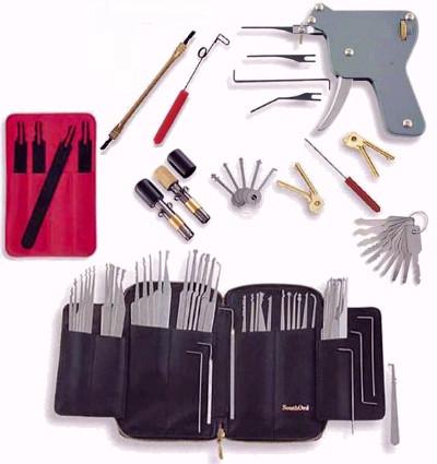 Combo Set 6 - Huge Lock Picking Tools Assortment at a Huge